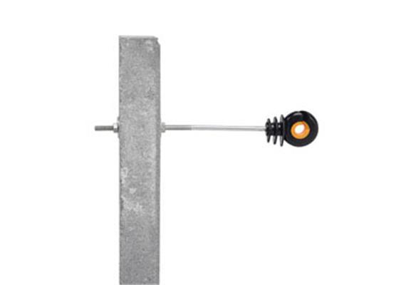 Abstand - Isolator Gallagher XDI schwarz/orange mit M-GEWINDE 20cm 10Stk.