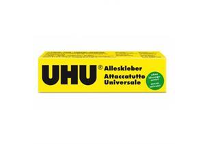 Alleskleber UHU - Tube 35g, für Papier, Glas,Holz, Kunststoff, Metall, Stoff