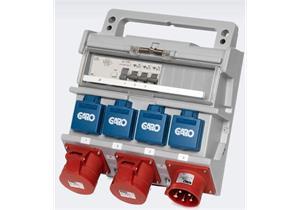 Baustromverteiler Anschlusskabel 5x4mm² 1x CEE 32A 2xCEE 16A 400V