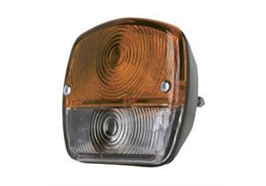 Blink- Positionsleuchte B 114 H 103 T 52mm für vorderen Anbau Auteroche