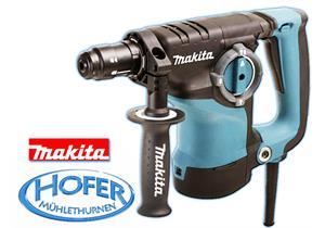 Bohr- + Spitzhammer 3 Funktionen Makita HR2811FT 230V 800 Watt mit Bohrfutter SDS+ + 0.5x