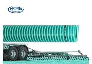 D-Tec Saug - und Druckschlauch grün Ø 32 x 3.7mm 6bar für Schleppschlauchverteiler