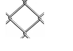 Diagonalgeflecht stark verzinkt H 1000 Masche 50 Draht Ø 2,2mm