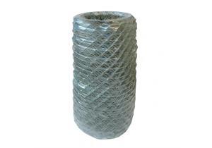 Diagonalgeflecht verzinkt+grau plastifiziert Masche 50 Draht 2,3/2,8 Höhe 800mm