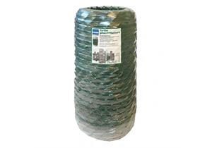 Diagonalgeflecht verzinkt+grün plastifiziert Masche 50 Draht 2,3/2,8 Breite 1000mm