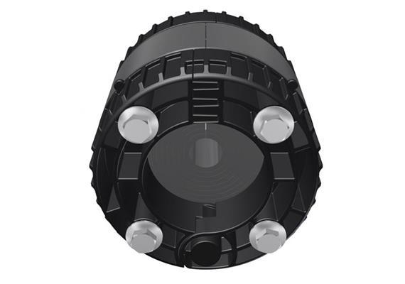 Dichteinsatz aufklappbar zu RDS evolution Rohrdurchführung DN 100 Ø 15-50mm