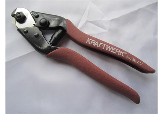 Draht - und Kabelschere für Draht Ø 4 oder Stahldraht Ø 2.5 L 190mm