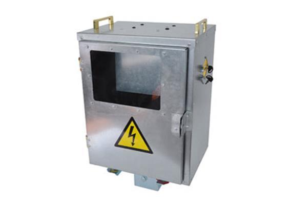 Einbruchsicherer Kasten Gallagher zu Power Box B160, 260 und 700