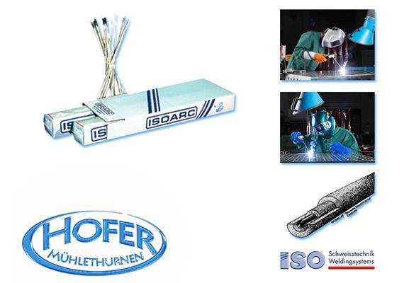 Elektroden für rostfreien Stahl Isoarc 316L Ø 3,25mm für rostfreien Stahl V2A + V4A