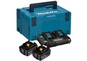 Energypack mit 2 Akku Makita 18V BL1850 5Ah und Doppelladegerät - Sonderpreis zu SystemKIT