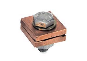 Erdung- Blitzschutz Doppelfalzklemme 6-8mm Kupfer AF 275.041.025