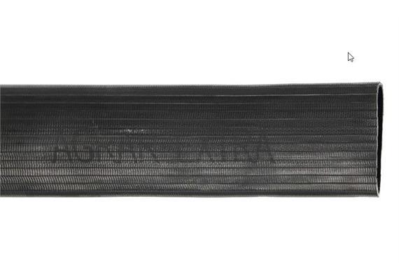 Flachschlauch Ø 75 x 3.5mm Polyestereinlage gummiert, Betriebsdruck 20bar zum schleppen