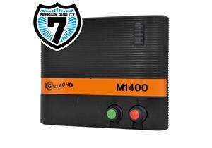 Gallagher Netz-Viehhüter M1400 12 Joule für Zäune bis 55km