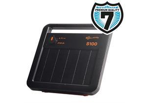Gallagher Solarviehhüter S100 (12V 7,2Ah) inkl. Batterie, für Zäune bis 10km