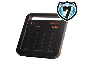 Gallagher Solarviehhüter S40 (6V - 10Ah) inkl. Batterie, für Zäune bis 5km