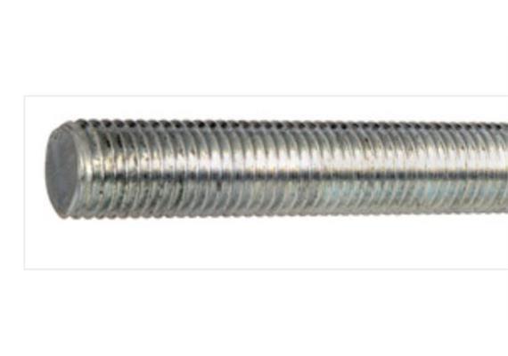 Gewindestange verzinkt 4.6 DIN 975 1m lang M27