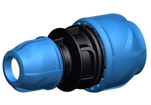 +GF+ iJoint Kupplung reduziert Ø 63 x 50mm aus PP ND 16 D NBR