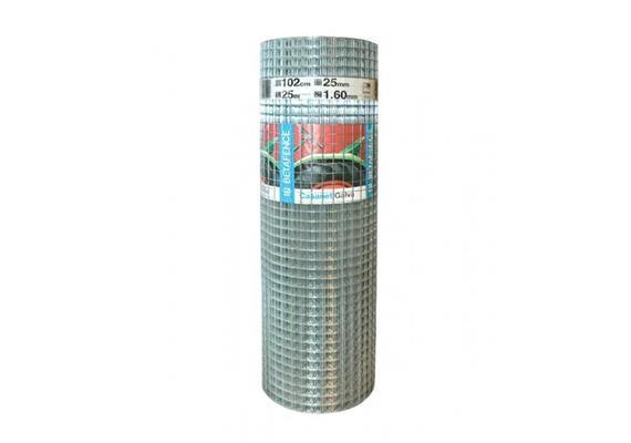 Gitter punktgeschweisst Casanet im Vollbad verzinkt 6,3/6,3x0,55 Breite 1000mm