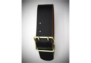 Glockenriemen Oro 7x110cm Leder schwarz