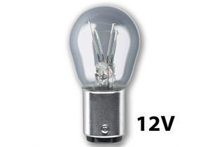 Glühlampen 12V 21/5W BAY15d (Rücklicht/Bremslicht)