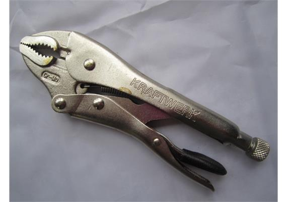 """Gripzange 10"""" flache Backen L 225 max. Spannweite 41mm"""