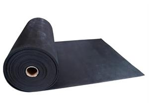 Gummirollenbelag Stallgummimatte, Breite 1,5m Dicke 8 mm m. Hammerschlagprofi