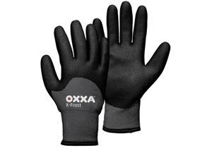 Handschuh OXXA X-Frost 51-860, Gr.10 grau wasserfest
