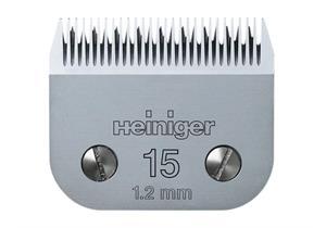 Heiniger Schermesser SAPHIR #15 / 1,2 mm - Pferd, Rind, Kühe, Hund, Katze
