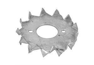 Holzverbinder Bulldog zweiseitig gezahnt verzinkt Ø 17 x 48mm