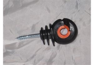 Isolator Gallagher XDI schwarz/orange mit Holzgewinde 125Stk.