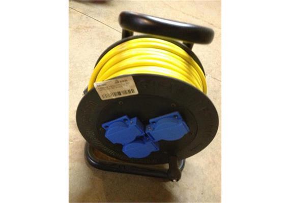 Kabelrolle Hartgummi Typ 501 3xT15 25m 3x1.5mm2 T12
