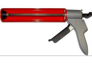 Kittpistole für Kartuschen H - 40 bis 310ml hohe Übersetzung,einhändige Bremsfreigabe