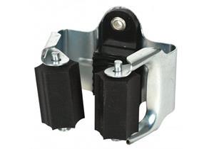 Klemmfix-Besenhalter, Federstahl verz. - Klemmbereich 20 - 32mm