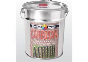 Knuchel - Zaunfarbe Carbosan braun 5 liter