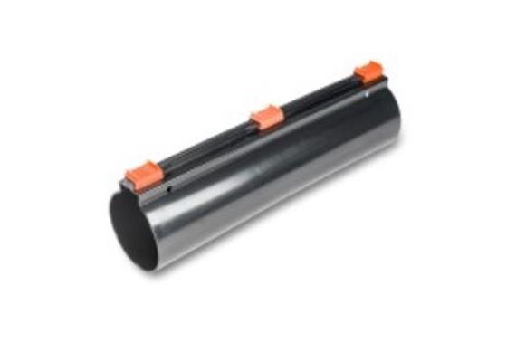 KSR-Längsverschluss-Muffe aus PE L 400 Ø 132/120mm