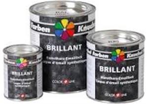 Kunstharz-Emaillack Brillant 750 ml,schwarz Ral 9005 Metall und Holz + CHF 0.72 VOC Taxe
