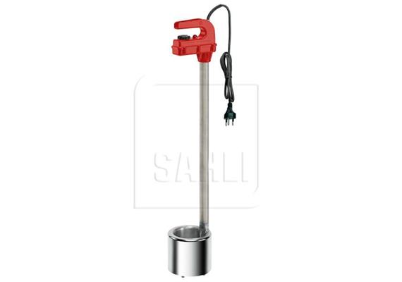 LISTER Milchwärmer poliert Ø145mm L 860mm mit Thermostat 230V 2300W