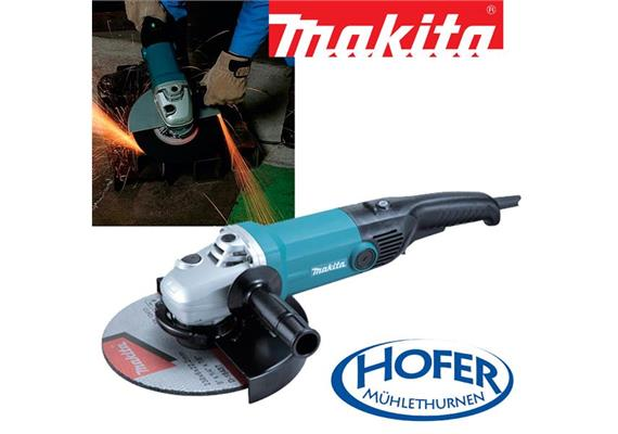 Makita Polierschleifer Ø 180 mm 9237CB 1200 Watt 0 - 3,200 U/min