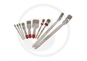 MAKO Pinsel-Set 10-teilig für einfache Lackier- und Grundierungsarbeiten