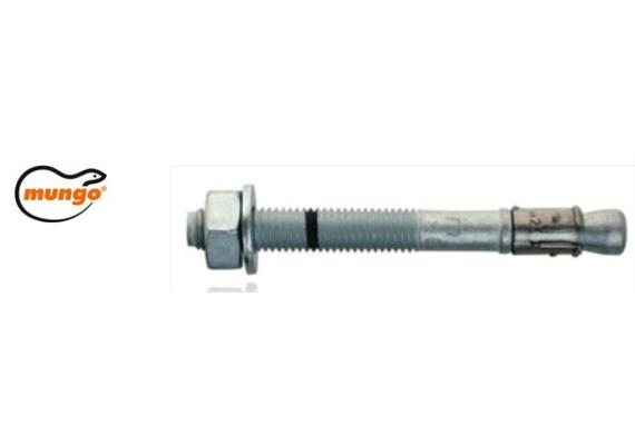 Mungo m2 Bolzenanker verzinkt M12 x 125/30mm