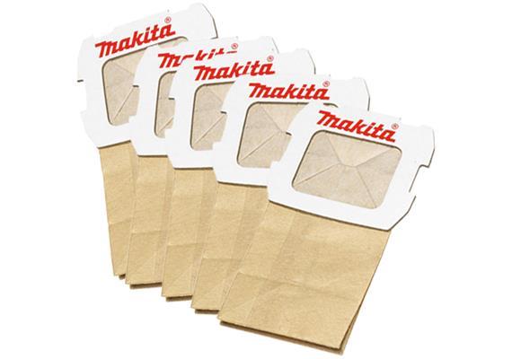 Papier Staubsack für Schwingschleifer BO4555, BO4565, BO3710, BO5031, BO5040, BO5041 5Stk.