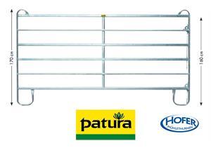 PATURA Panel-6, Breite 2,40 m, Höhe 1,70 m, für Pferd, Rind, Esel, Pony