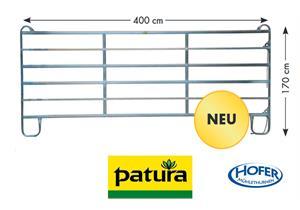 PATURA Panel-6, Breite 4.00 m, Höhe 1,70 m, für Pferd, Rind, Esel, Pony - AKTION CHF 215.-