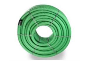 PE Drain-Flex-Rohr gerollt geschlitzt, grün DN 63 Ø 63 x 52mm innen glatt