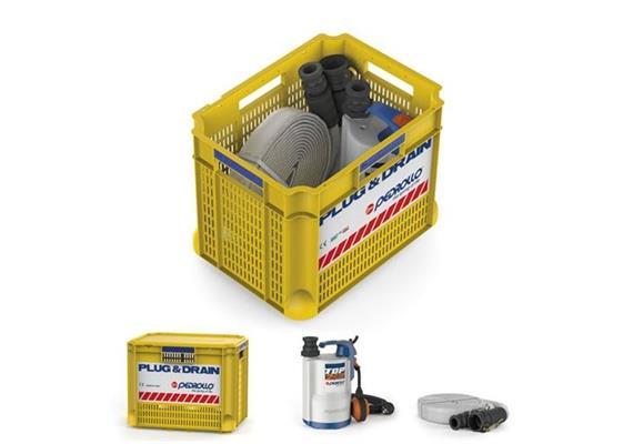 Pedrollo Notfall - Pumpen Set Plug & Drain Kit (SOS KIT)