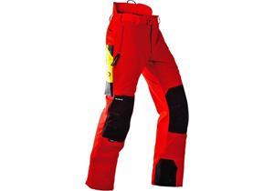Pfanner Schnittschutzhose Gladiator Gr. XL rot