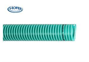 PVC Saug - und Druckschlauch grün Ø 63 x 5.6mm 4.5bar (3fach), Ø71 aussen