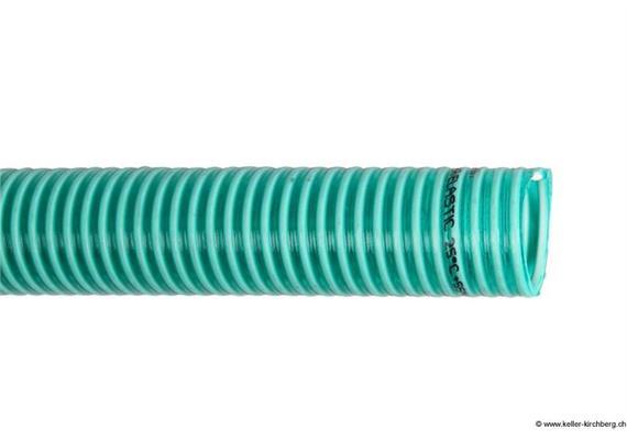 PVC Saug - und Druckschlauch grünweiss Ø 38 x 3.7mm 4.5bar Luisiana Super Elastic