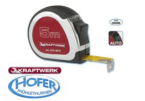 Rollmeter mit Stopper 3m