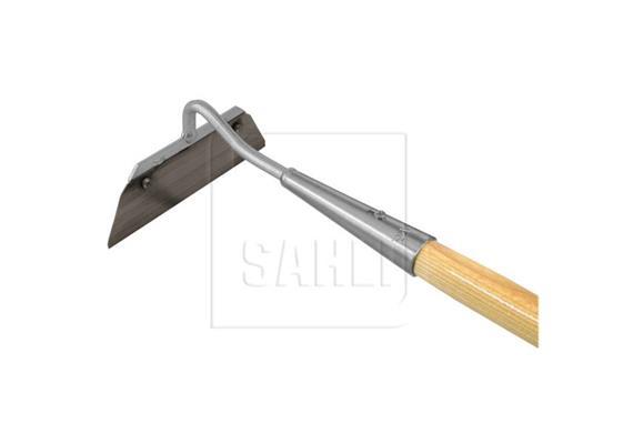 Rundhacke B=175 mit Stiel L=1500mm, Stahlmesser genietet